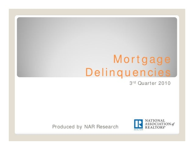 Mortgage Delinquencies