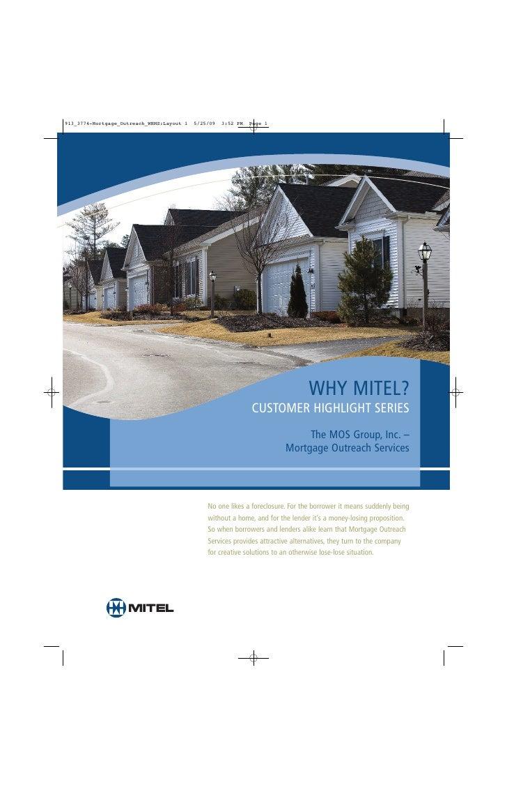 Mortgage Outreach Mitel
