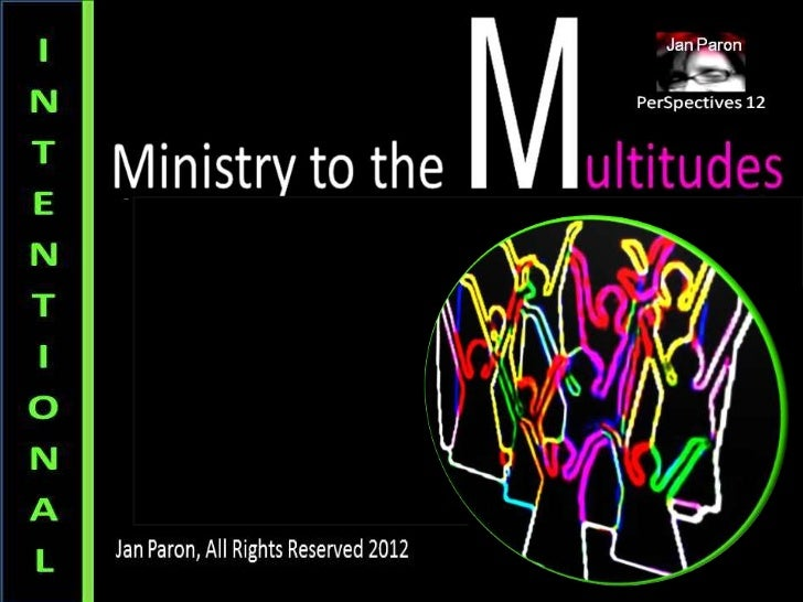 M.O.S.A.I.C. Church Series, Pt. 2: Intentional Ministry (Multicultural Church)