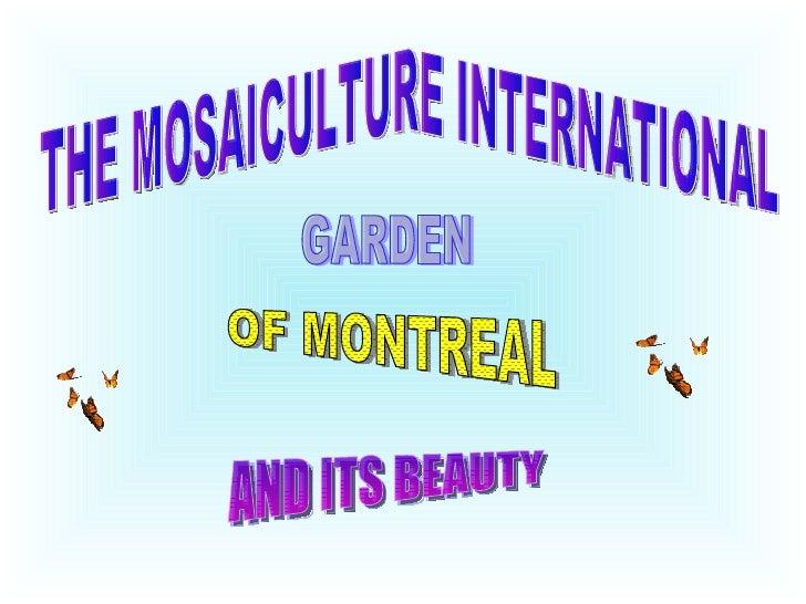 Mosaiculturegarden