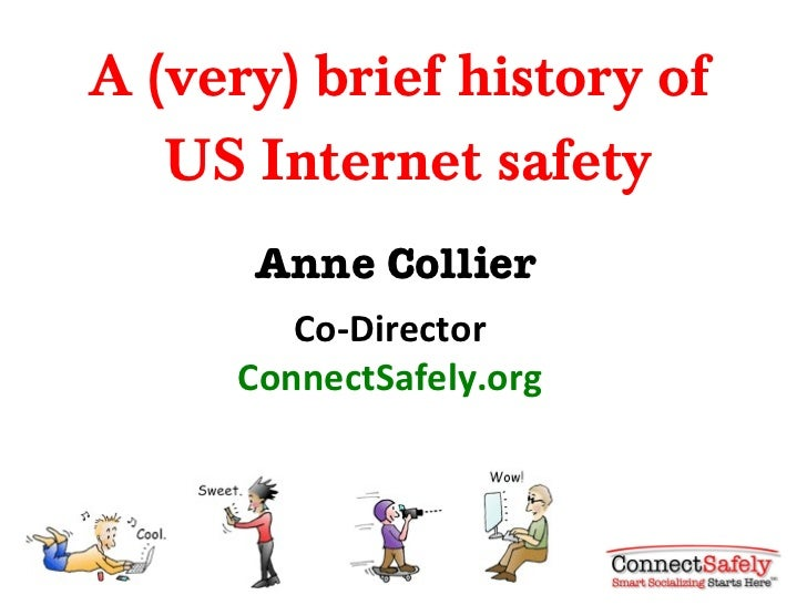 A (very) brief history of Internet safety