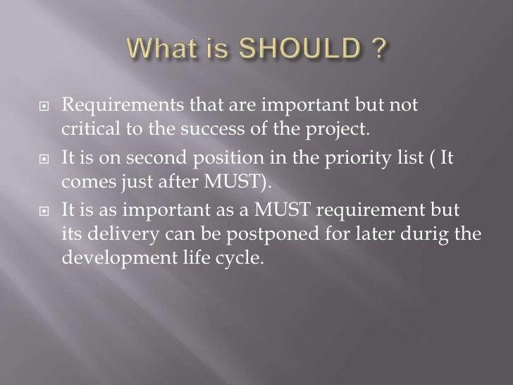 Priority List Method in The Priority List it