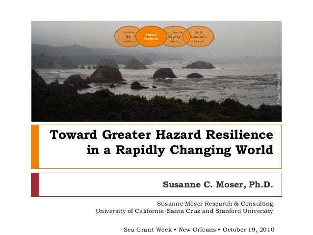 Toward Greater Hazard Resilience in a Changing World