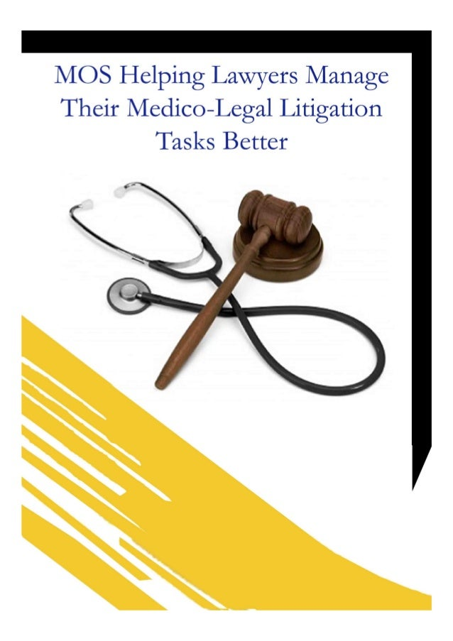 Mos helping lawyers manage their medico legal litigation tasks better