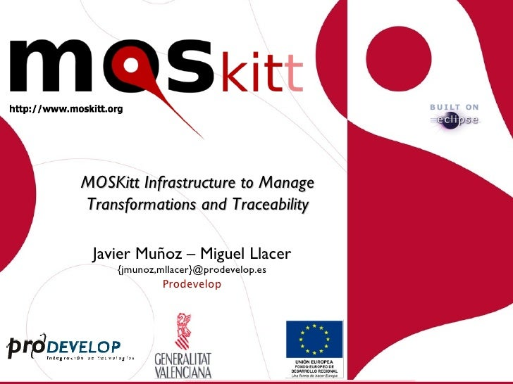 MOSKitt Transformations And Traceability
