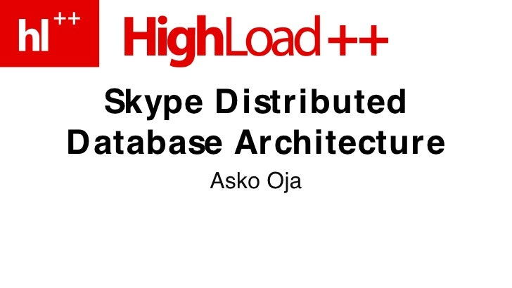 Moskva Architecture Highload