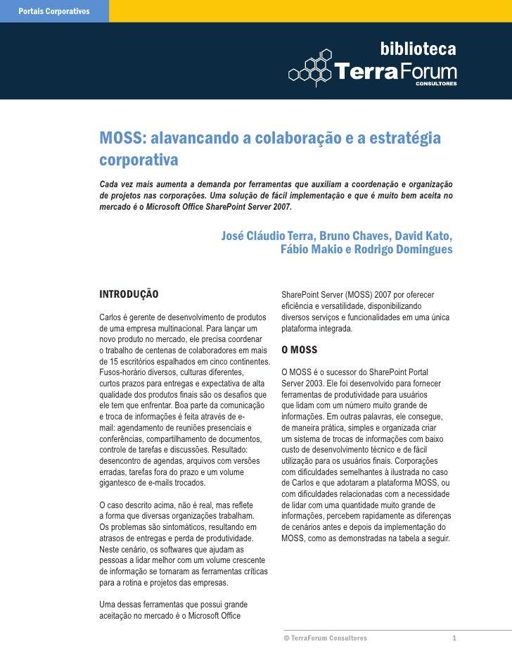 Mossalavancandoacolaboracaoeaestrategiacorporativa 090812140819 Phpapp02