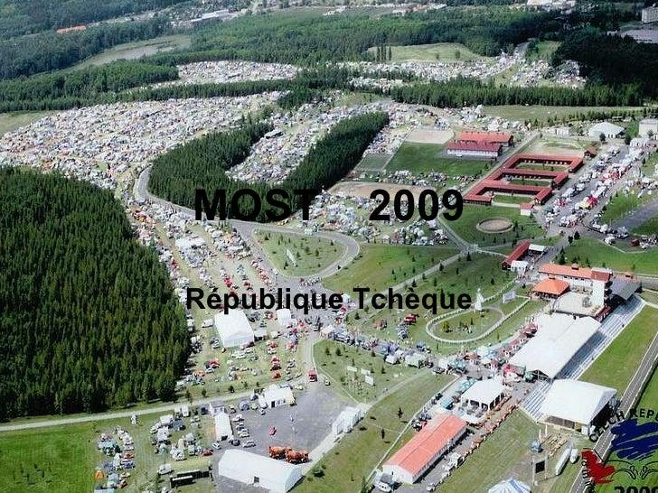 MOST  2009 République Tchèque