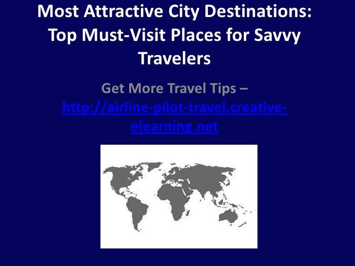 Most attractive city destinations