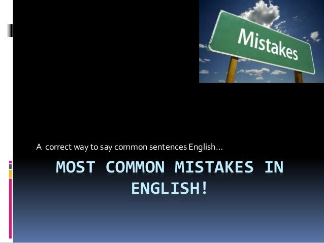 most common sentences in english pdf