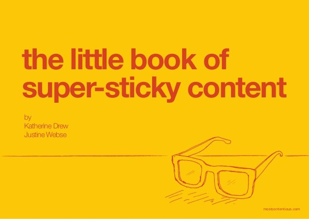 little book of super-sticky content