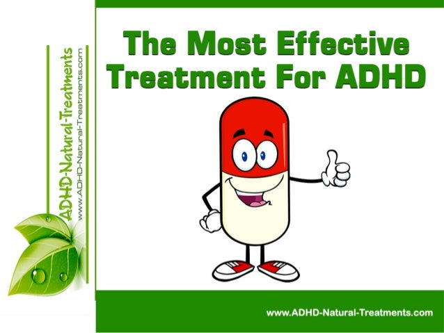 The Most Effective Treatment For ADHD