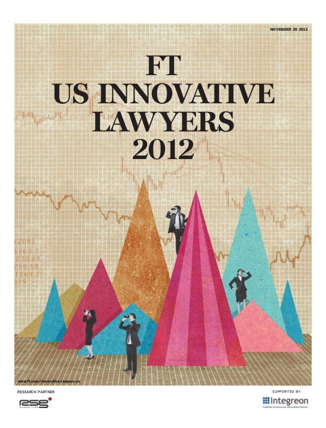 Most innovative law firms 2012