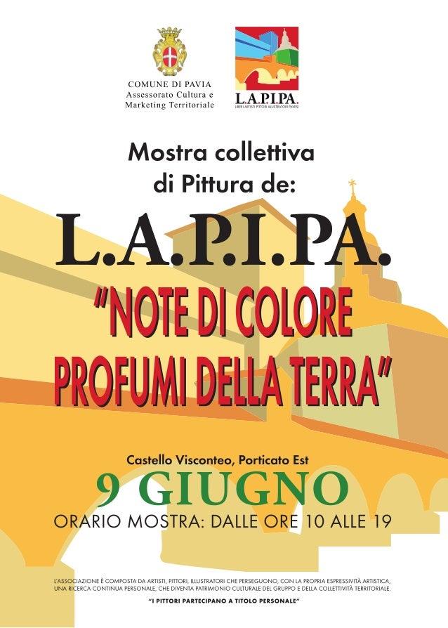 Mostra collettiva di pittura L.A.P.I.PA - Castello Visconteo a Pavia
