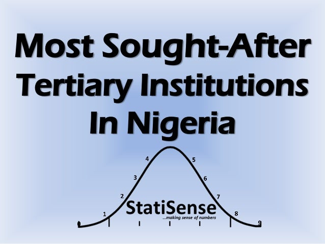 Most Sought-After Tertiary Institutions In Nigeria