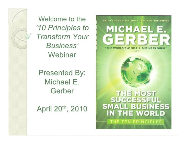 Most successful webinar presentation 4.20.10