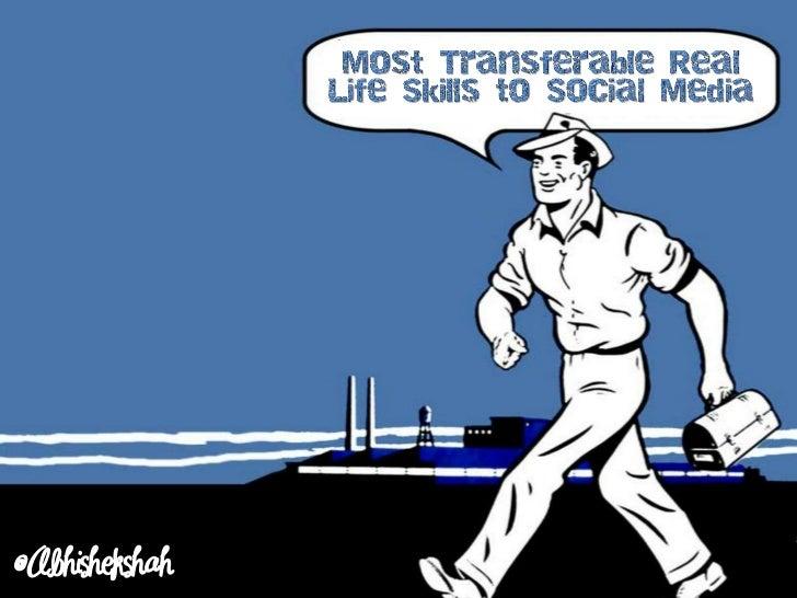 Most Transferable Real Life Skills to Social Media