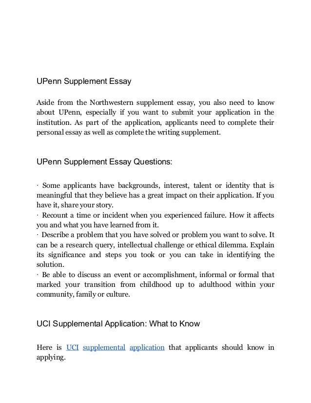 Write my brown supplement essay