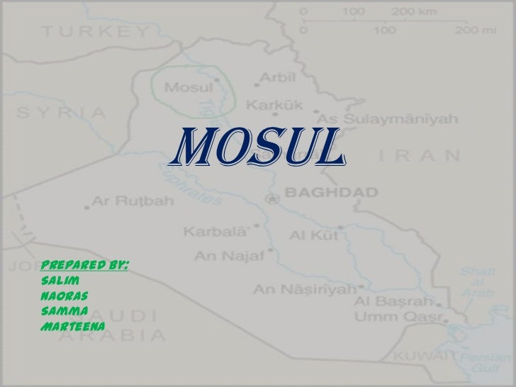 About Mosul, Iraq