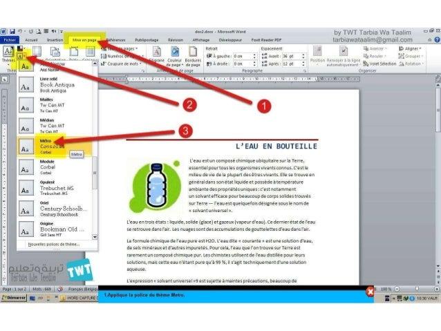 EXAMEN MOS Word 2010 EXP V 2 Correction - YouTube