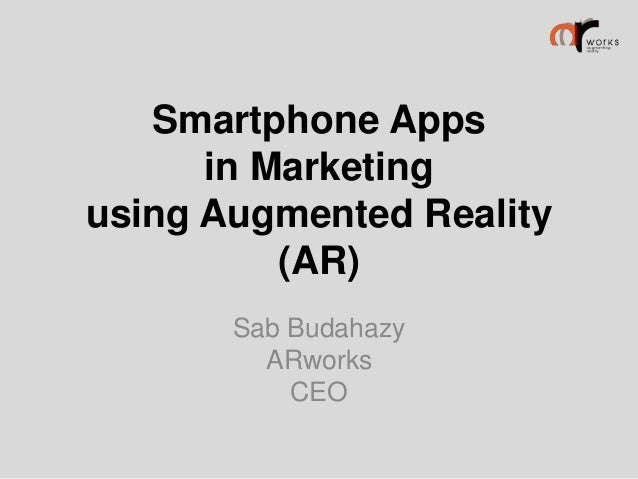 Augmented Reality presentation of ARworks