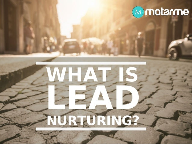What Is Lead Nurturing - A Motarme Guide