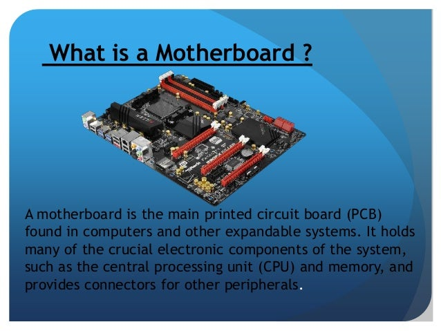 Motherboard Arch Amp Component