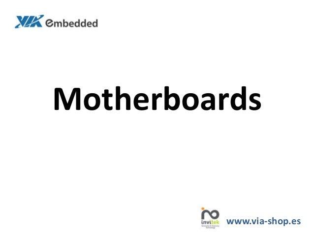 Motherboardswww.via-shop.es