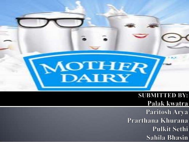 Mother dairy ( strategies to promote sales in South and West)