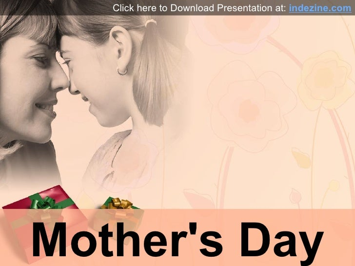 Mothers Day PowerPoint Presentation