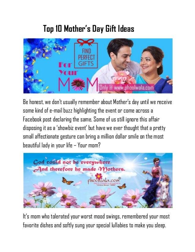 Mother's day blog   phoolwala.com