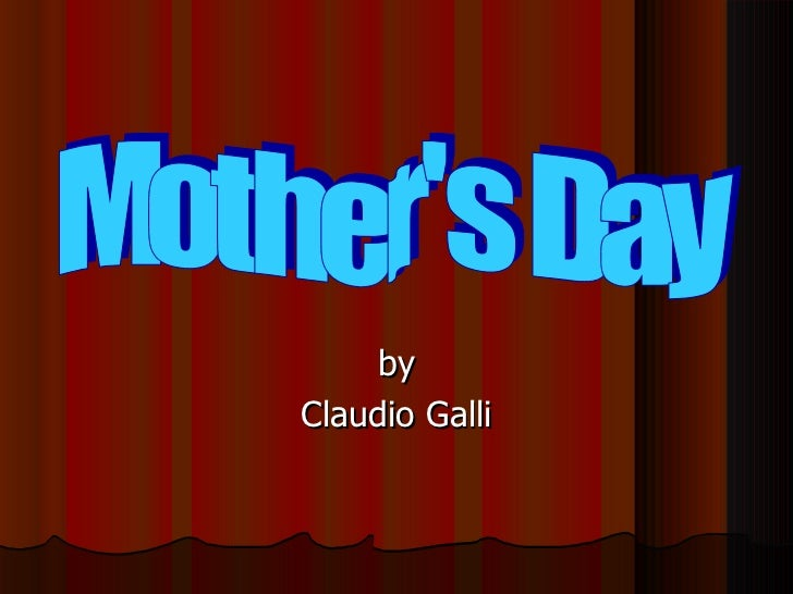 Mother's day by galli claudio