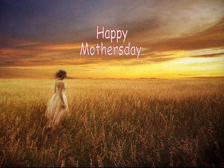 Mothersday Prayer 09 05 2009