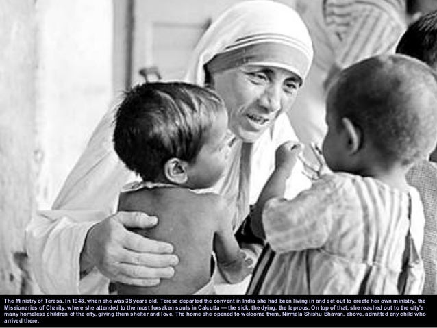 Mother Teresa  Saint o...