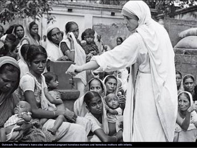 """mother teresa the saint of gutters essay For years, people have called mother teresa """"the saint of the gutters"""" on  september 4, pope francis made it official sainthood is one of the."""