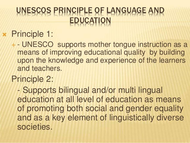 education in mother tongue essay In many research on second language classroom, the role and influences of mother tongue or first language (l1) on second language (l2) learning.