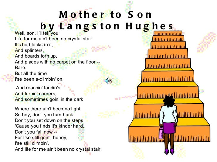 Mother to Son by Langston Hughes | Poetry Foundation