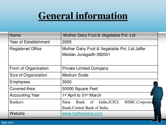inventory management of mother dairy On selection along with an agreement with mother dairy and rs 50,000/- required during allotment of booth for the product inventory (b) training the concessionaire will undergo free training for two-four.