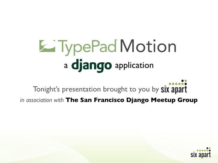 Motion Django Meetup