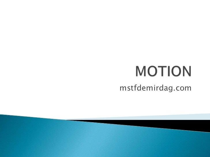 Motion g7
