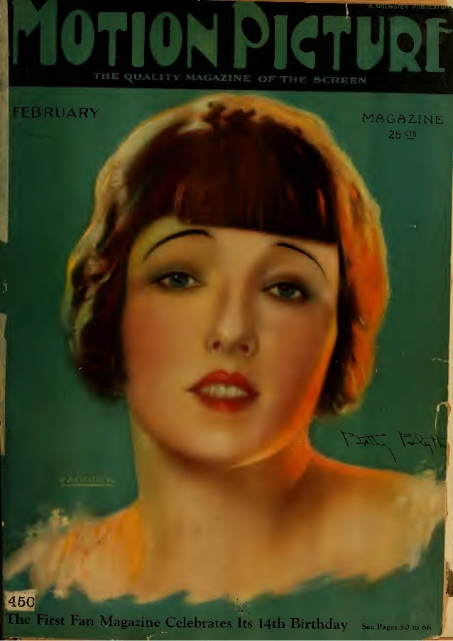 Motion Picture Magazine, February, 1925 No 1