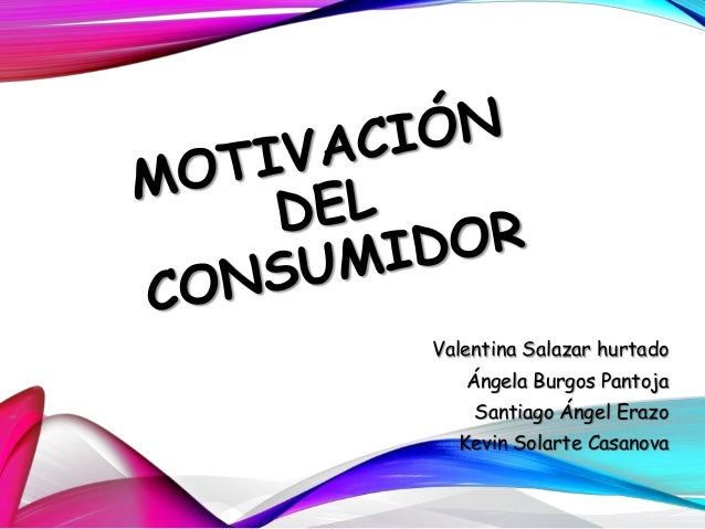 Motivaci n del consumidor for Oficina del consumidor burgos