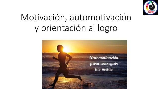 Motivación y automotivación lanas stop