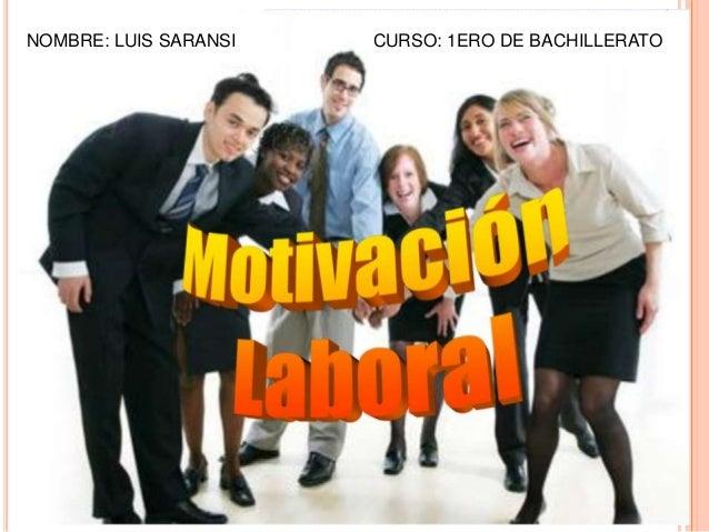 modulo de ret (la motivacion laboral)
