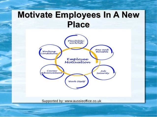 motivating to perform in the workplace Impact of employee motivation on performance by using intrinsic satisfactio n & extrinsic factor organization can inspire employee motivation at work motivation of employees is one function which every manager has to perform along with other managerial functions.