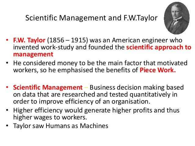 founding theorists of management