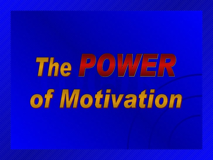 FQK The POWER of Motivation