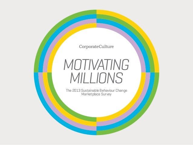Motivating Millions
