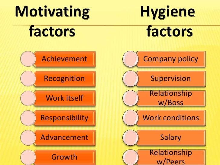 Hertzberg two factor theory of motivation