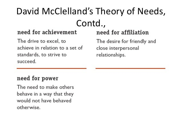 mcclelland vs vroom Essays - largest database of quality sample essays and research papers on compare maslow herzberg mcclelland vroom, porter & lawler.